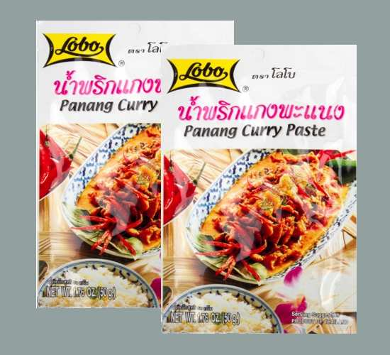Buy this article : Panang curry paste (2 bags of 50g)