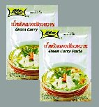"Category ""Seasonings"" : Green curry paste (2 bags of 50g)"