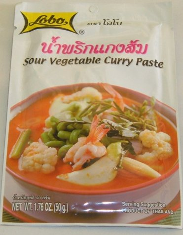 Buy this article : Sour vegetable curry paste