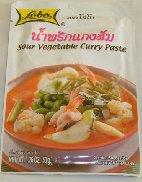 "Category ""Seasonings"" : Sour vegetable curry paste"