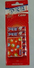 "Category ""PEZ dispenser"" : Refill PEZ COLA"