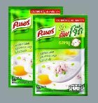 List of products by manufacturer of Instant soup, pork flavor (2 bags of 55g)
