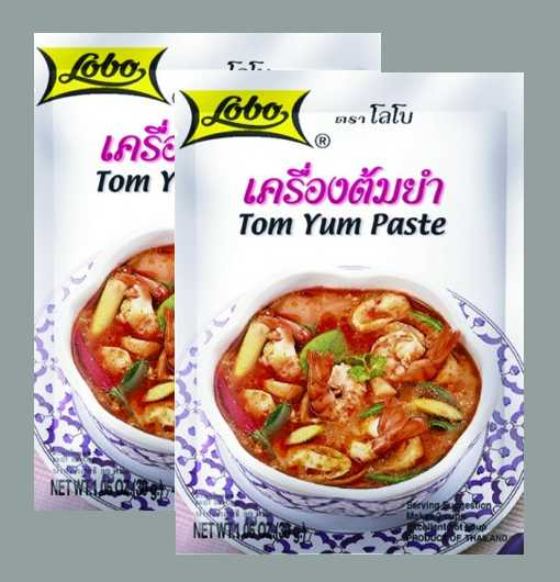 Buy this article : Tom Yum paste preparation (2 bags of 30g)