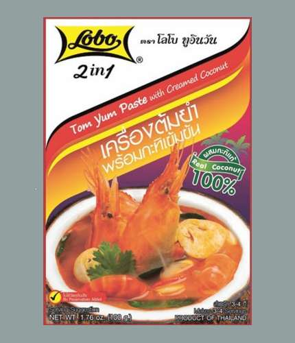 Buy this article : TomYum 2IN1 with Coconut Milk 100g