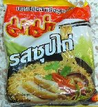 "Category ""Thai Noodles"" : Noodles chicken flavor"