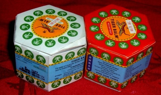 Buy this article : Tiger Balm (2 boxes 10g) : Red and White