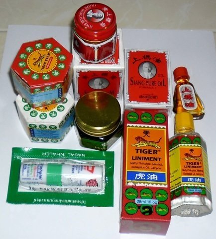 Buy this article : Assortment discovery of Tiger Balm, Thai balm