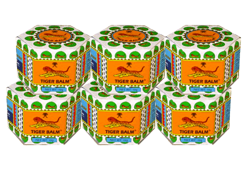 Buy this article : Tiger Balm White - 6 boxes of 10gr