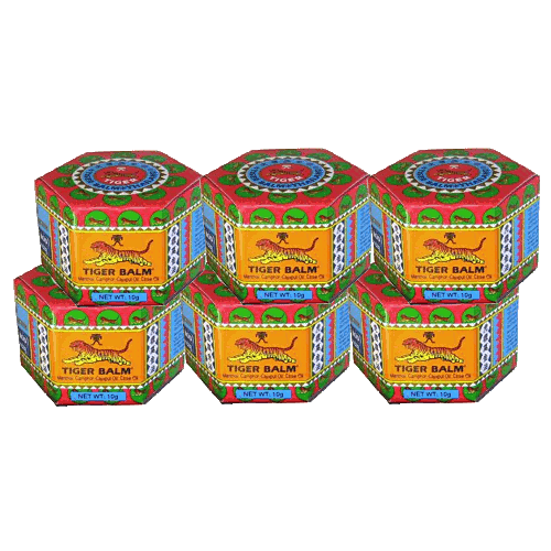 Buy this article : Tiger Balm Red - 6 boxes of 10gr
