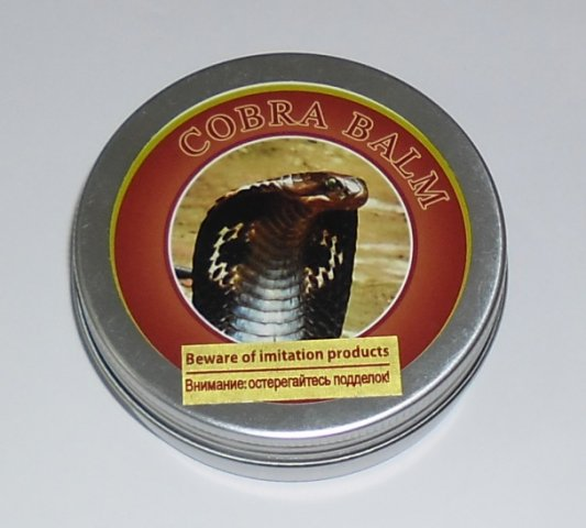 Buy this article : Cobra Balm, 100 gr