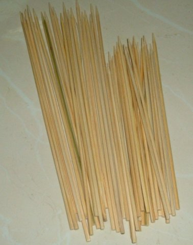 Buy this article : 50 bamboo skewers