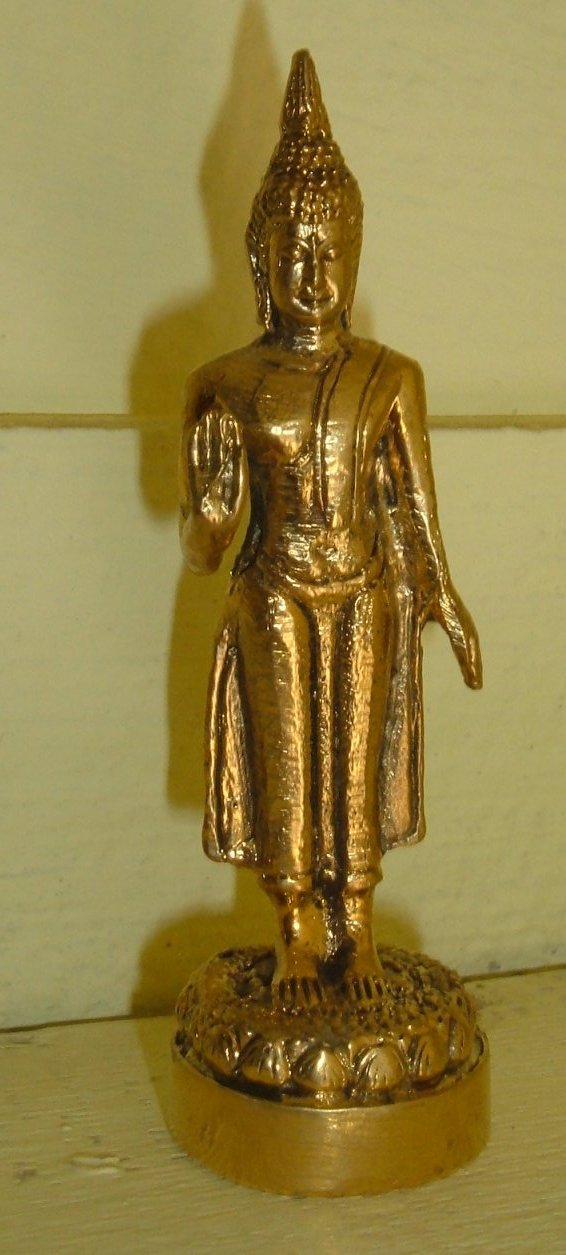 Buy this article : Buddha statue gilded bronz