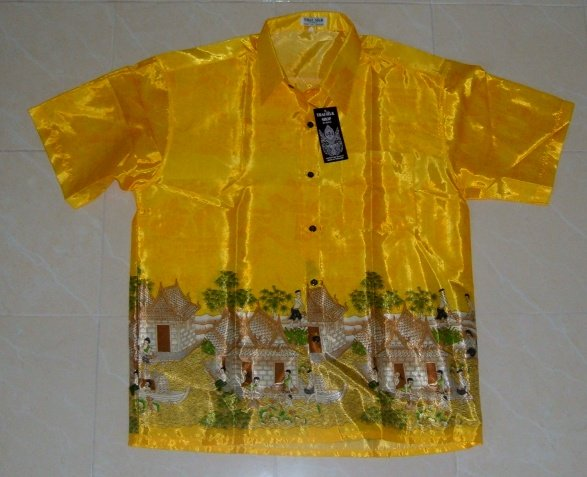Buy this article : Shirt Thai silk