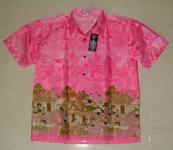 Buy this article : Shirt Thai silk XL