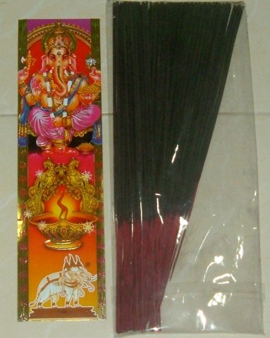 Buy this article : Pack of 50 sticks of incense ganesh