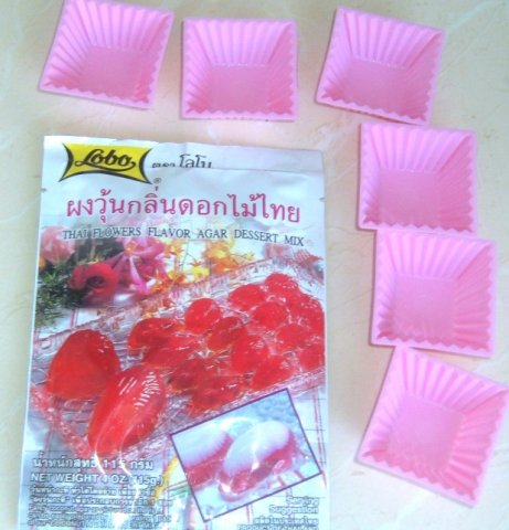 Buy this article : Thai flowers flavor agar dessert mix
