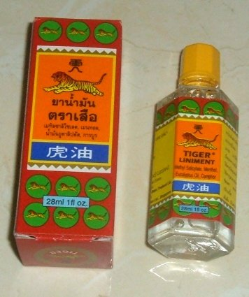 Buy this article : Tiger balm, Tiger liniment oil (bottle 28 ml)