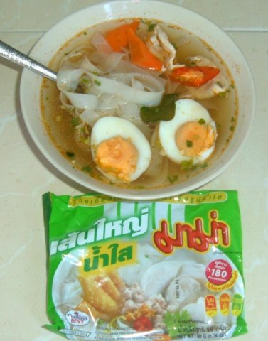 Buy this article : nstant soup big flat rice noodles MAMA