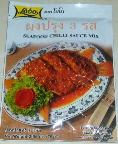 Buy this article : Seafood chilli sauce mix