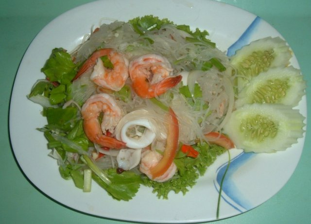 Buy this article : Video YAM SEA FOOD, Thai salad sea food