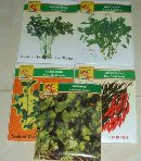Product : Seed packets, thai basil, peppers was purchased by our customers with the article above.