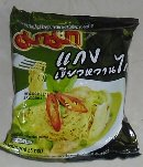 Product : Mama grenn curry noodles was purchased by our customers with the article above.