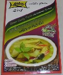 Product : New green curry with coconut cream was purchased by our customers with the article above.