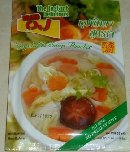 Product : Vegetables soup was purchased by our customers with the article above.