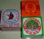 "Category ""Assorted balms"" : Assortment 3 boxes - Monkey Balm, of 5 Pagoda and Golden Cup"