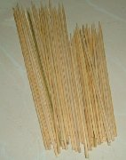 "Category ""Various Thai"" : 50 bamboo skewers"