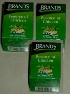 3 Flacons Essence of chicken BRAND's