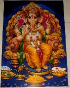 "Category ""Various Thai"" : GANESH printed canvas"
