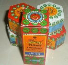 "Category ""Assorted balms"" : Assortment : 4 boxes Tiger Balm and 1 Tiger liniment"