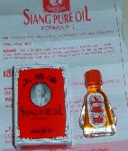"Category ""Oils"" : oil treatment and massage Siang Pure Oil"