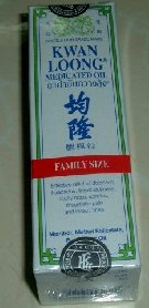 New Product : Oil treatment and massage KWAN LOONG HR, family-sized 57 ml, Oil