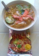 New Product : Instant noodles prawn MAMA